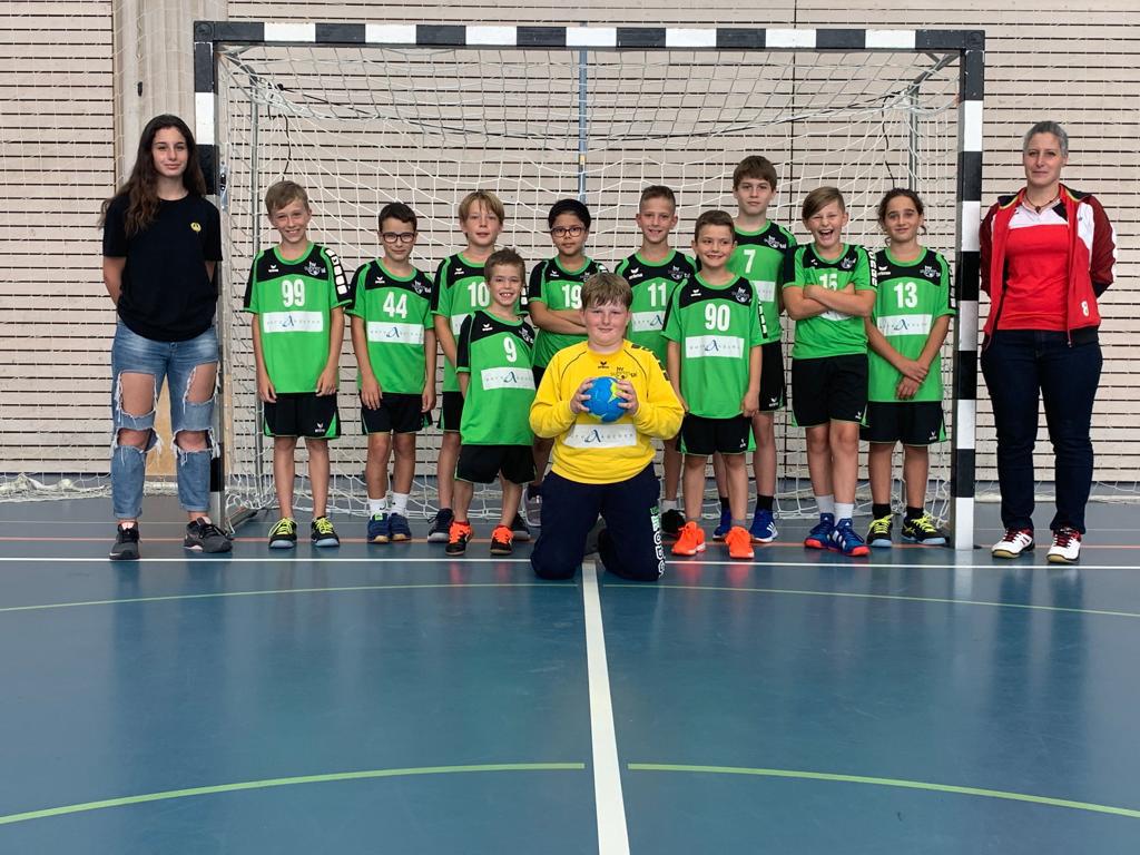 Teamfoto MU13 HV Suhrental Saison 2021/2022