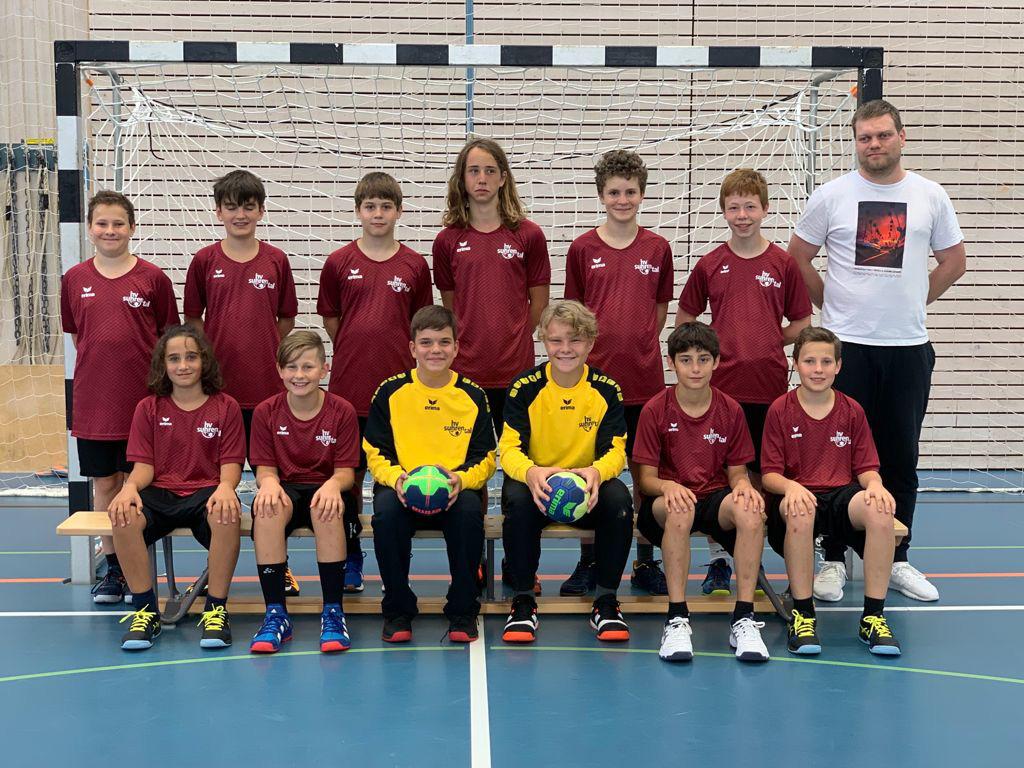 Teamfoto MU15 HV Suhrental Saison 2021/2022
