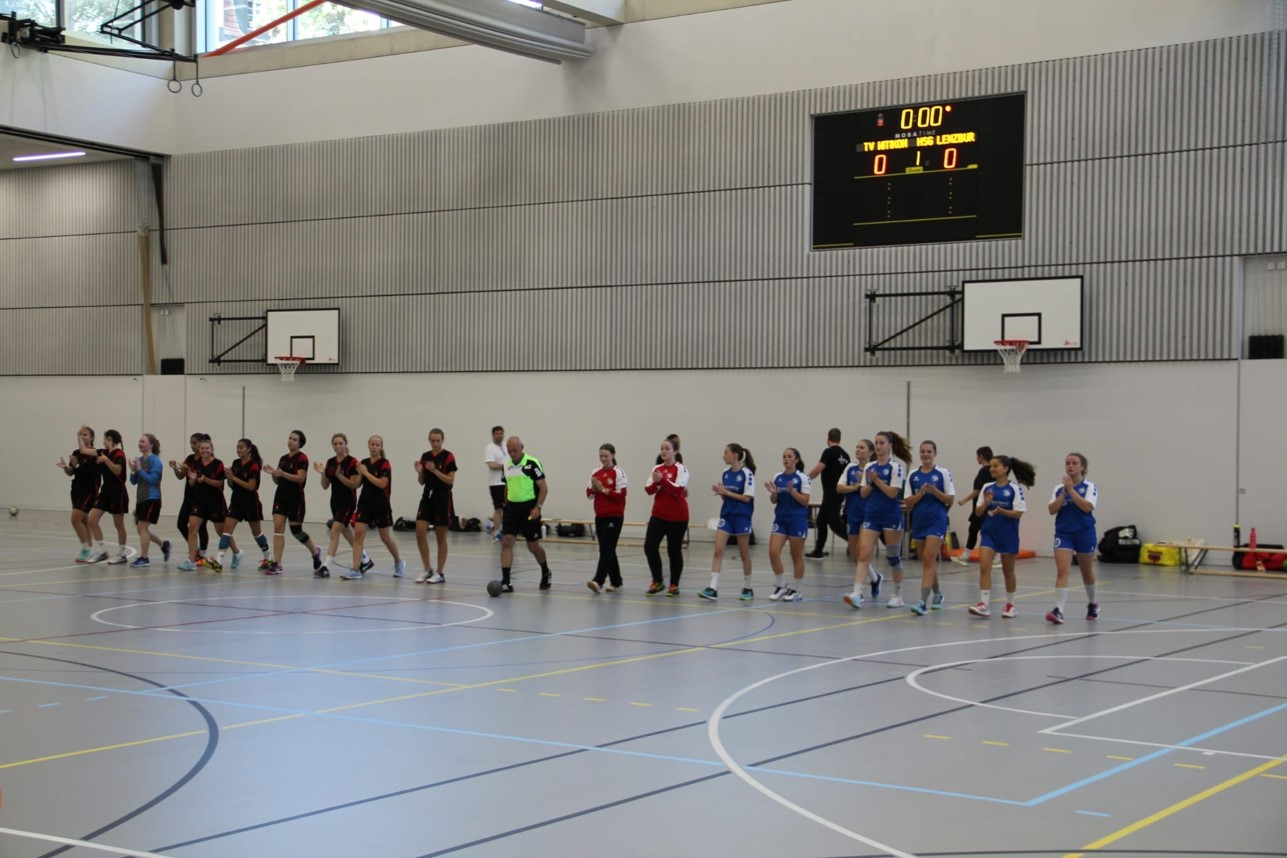 HV Suhrental FU18 Saisonspiel gegen TV Witikon