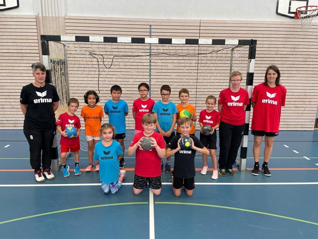 Teamfoto U9 und U11 HV Suhrental Saison 2021/2022